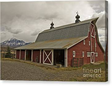 Classic Colorado Country  Canvas Print