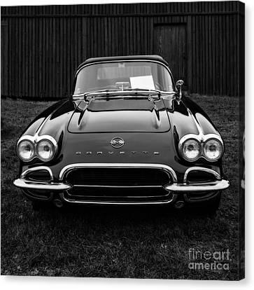 Classic Corvette Canvas Print by Edward Fielding