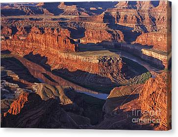 Classic Dead Horse Point Sunrise Canvas Print by Mark Kiver