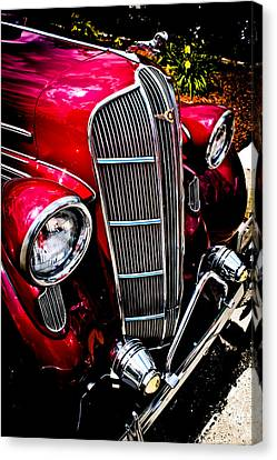Canvas Print featuring the photograph Classic Dodge Brothers Sedan by Joann Copeland-Paul