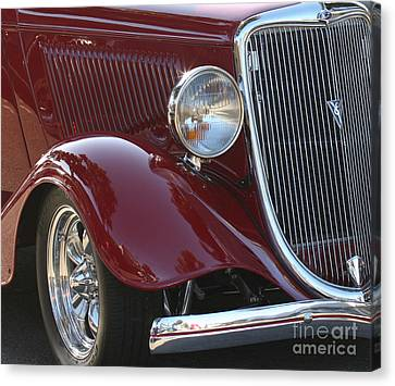 Classic Ford Car Canvas Print