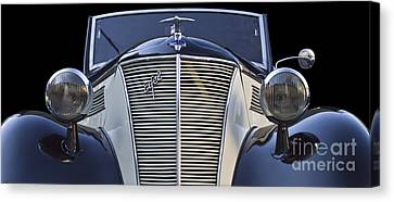 Eifel Canvas Print - Classic Ford Eifel Cabrio 1939 by Heiko Koehrer-Wagner