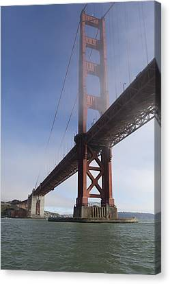 Classic Golden Gate Canvas Print by Scott Campbell