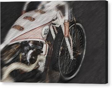 Classic Harley Davidson Canvas Print