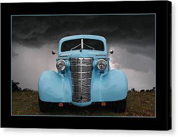 Canvas Print featuring the photograph Classic In Blue by Keith Hawley