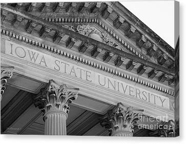 Classic Iowa State University Canvas Print by University Icons