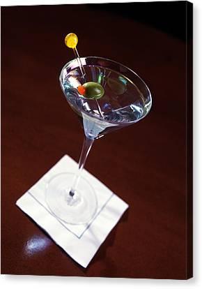 Classic Martini Canvas Print by Jon Neidert