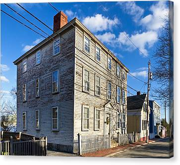 Classic New England Architecture Canvas Print by Mark E Tisdale