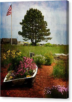 Classic New England Canvas Print by Tricia Marchlik