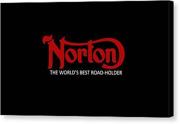 Classic Norton Phone Case Canvas Print by Mark Rogan