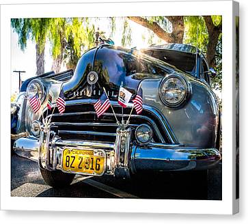 Canvas Print featuring the photograph Classic Oldsmobile by Steve Benefiel