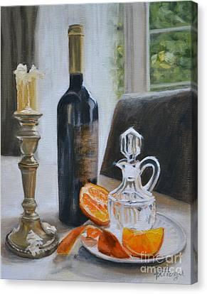 Classic Orange Canvas Print by Lori Pittenger