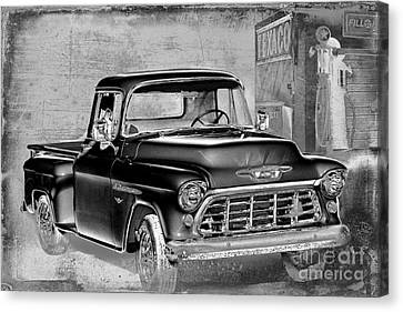 Classic Ride Canvas Print by Betty LaRue