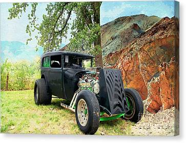Classic Rod Canvas Print by Liane Wright