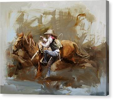 Classic Rodeo 5 Canvas Print
