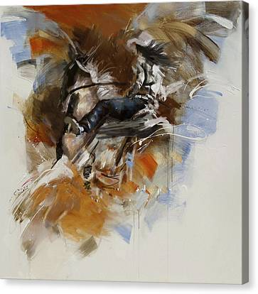 Classic Rodeo 7b Canvas Print