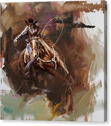 Classic Rodeo 8 Canvas Print