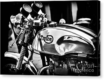Classic Triton Canvas Print by Tim Gainey