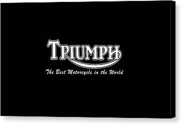 Classic Triumph Phone Case Canvas Print
