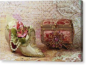 Shelley Myke Canvas Print - Classic Victorian Moments by Inspired Nature Photography Fine Art Photography