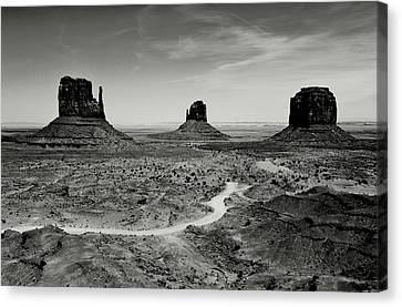 Classic West Canvas Print by Benjamin Yeager
