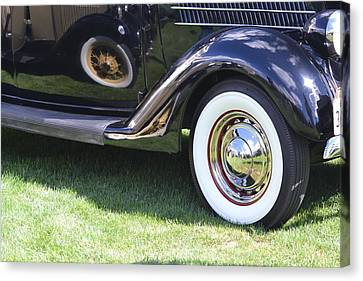 Classic Wheels Canvas Print by Bill Mock