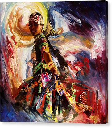 Classical Dance Art 13 Canvas Print