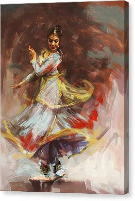Classical Dance Art 8 Canvas Print