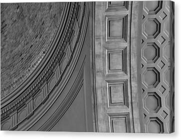 Classical Dome And Vault Detail Canvas Print by Lynn Palmer