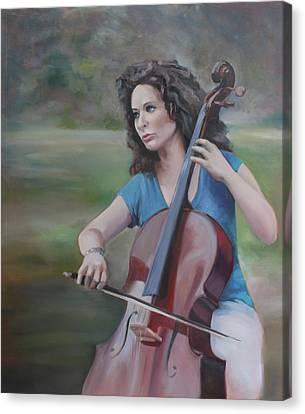 Classical Strands Canvas Print