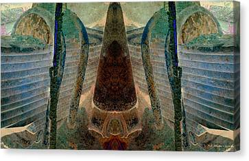 Classified Canvas Print by WB Johnston