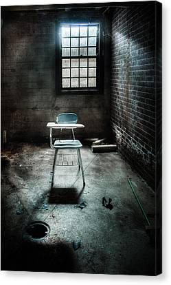 Classroom - School - Class For One Canvas Print by Gary Heller