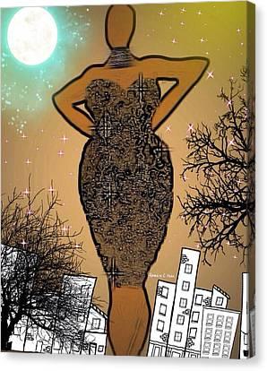 Classychic Canvas Print