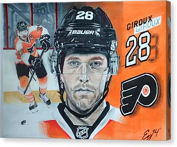 Claude Giroux  Canvas Print