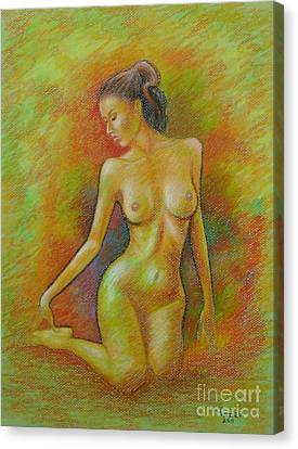 Claudia Canvas Print by Rolando Bautista