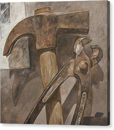 Clawhammer 2 Canvas Print by Anke Classen