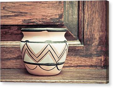 Clay Pot Canvas Print by Tom Gowanlock