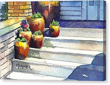Clay Pots Canvas Print by Spencer Meagher