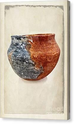 Clay Pottery  - Fine Art Photography Canvas Print by Ella Kaye Dickey