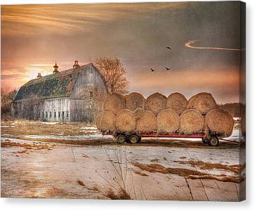 Clayton Sunset Canvas Print