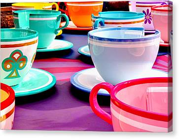 Canvas Print featuring the photograph Clean Cup Clean Cup Move Down by Benjamin Yeager