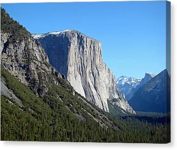Eternal Yosemite Canvas Print by Walter Fahmy