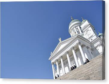 Clear Day At The Dom Canvas Print by Frederico Borges