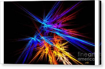 Clear Purpose Canvas Print by Steed Edwards