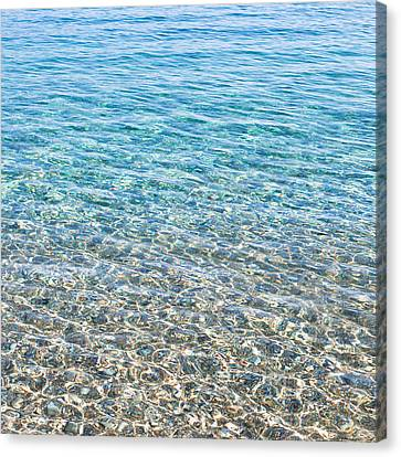 Clear Water Canvas Print by Tom Gowanlock