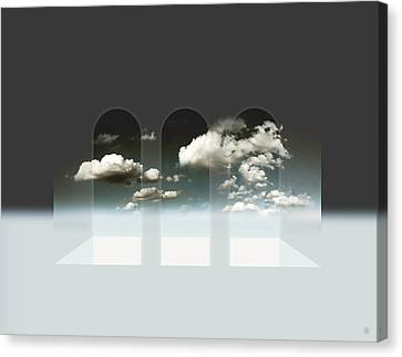 Clear Window Canvas Print by Florin Birjoveanu