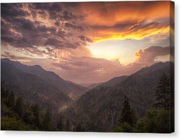 Clearing Skies Canvas Print by Andrew Soundarajan