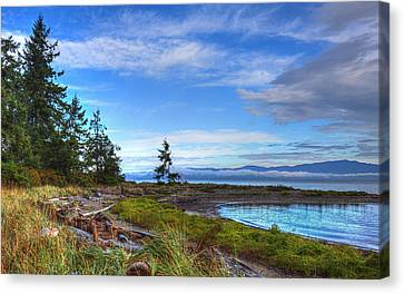 Clearing Skies Canvas Print by Randy Hall