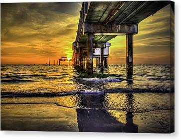 Clearwater Pier Canvas Print by Marvin Spates
