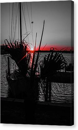 Clearwater Sunrise Canvas Print